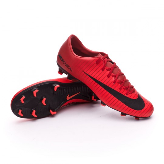 Red Nike Black Zapatos Fútbol Vi Victory De Fg Mercurial University n8n4wvEgqz