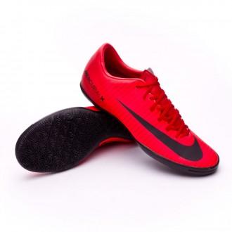 Sapatilha de Futsal  Nike MercurialX Victory VI IC University red-Black-Bright crimson