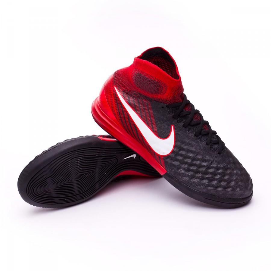 52a64c570dd Futsal Boot Nike MagistaX Proximo II DF IC Black-White-University ...