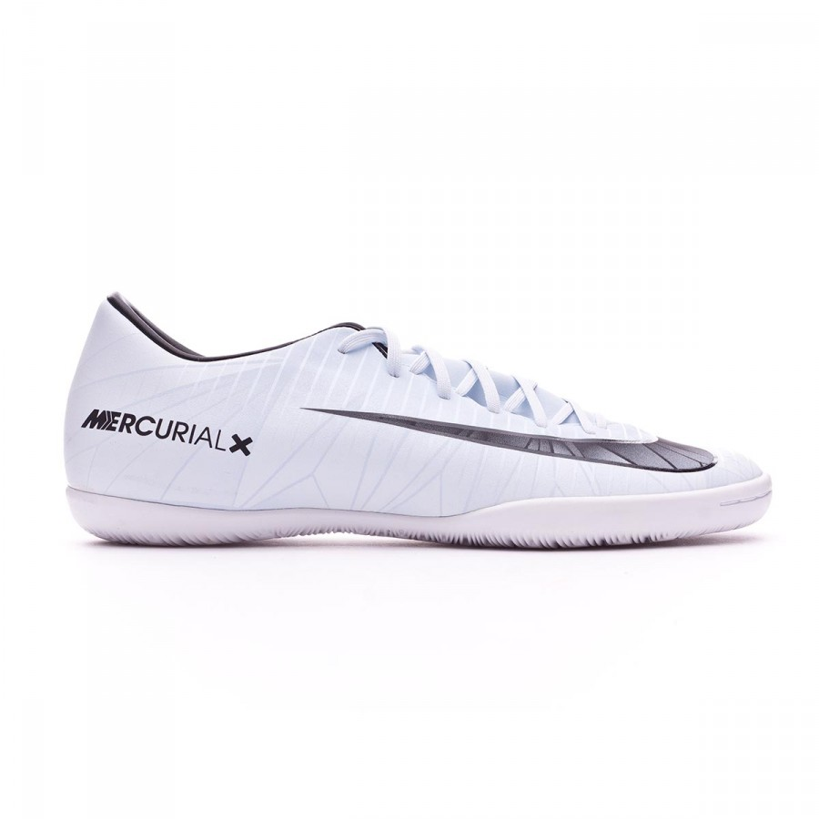 cf84c2b8f Sapatilha de Futsal Nike MercurialX Victory VI CR7 IC Blue  tint-Black-White-Blue tint - Loja de futebol Fútbol Emotion