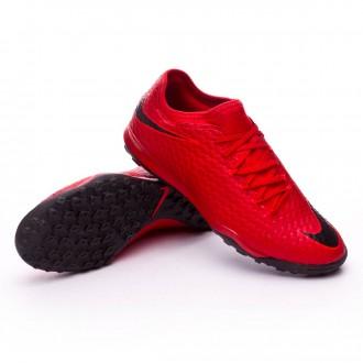 Zapatilla  Nike HypervenomX Finale II Turf University red-Black-Bright crimson