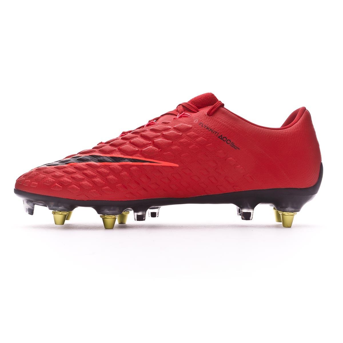 51493fbf509 Football Boots Nike Hypervenom Phantom III Anti-Clog ACC SG-Pro University  red-Black-Bright crimson - Tienda de fútbol Fútbol Emotion