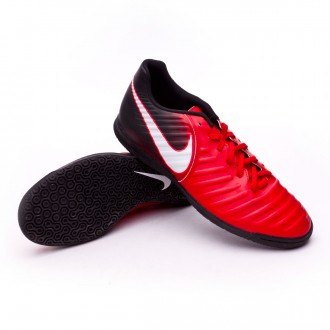 Sapatilha de Futsal  Nike TiempoX Rio IV IC University red-White-Black