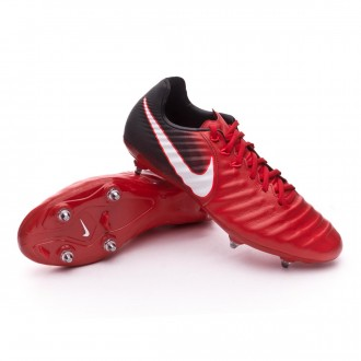 Chaussure  Nike Tiempo Legacy III SG University red-White-Black