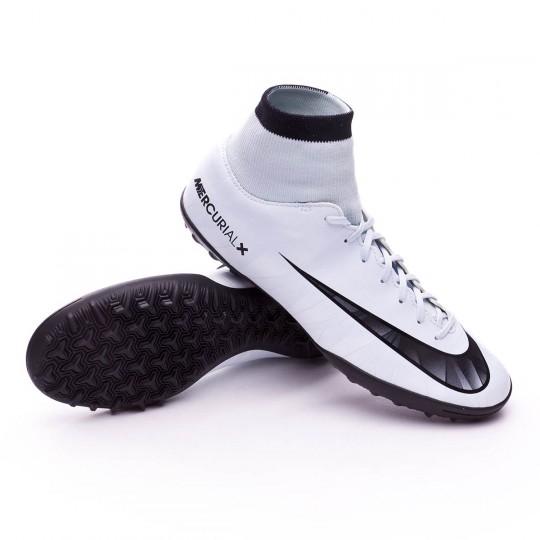 Chaussure de futsal  Nike MercurialX Victory VI CR7 DF Turf Blue tint-Black-White-Blue tint