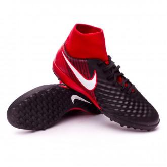 Zapatilla  Nike MagistaX Onda II DF Turf Black-White-University red