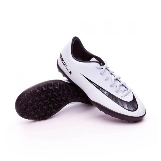 Chaussure de futsal  Nike Jr MercurialX Victory VI CR7 Turf Blue tint-Black-White-Blue tint