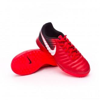 Sapatilhas  Nike TiempoX Ligera IV Turf Crianças University red-White-Black