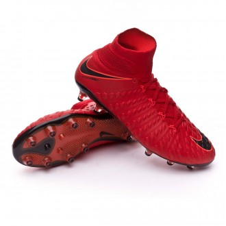 Zapatos de fútbol  Nike Hypervenom Phantom III DF ACC AG-Pro University red-Black-Bright crimson
