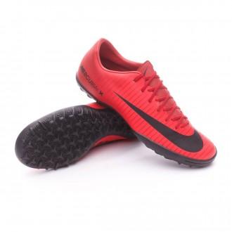 Sapatilha  Nike MercurialX Victory VI Turf University red-Black-Bright crimson