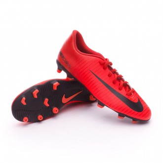 Chuteira  Nike Mercurial Vortex III FG University red-Black-Bright crimson