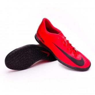 Sapatilha de Futsal  Nike MercurialX Vortex III IC University red-Black-Bright crimson