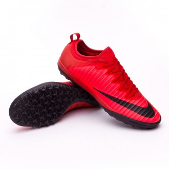 Zapatilla  Nike MercurialX Finale II Turf University red-Black-Bright crimson