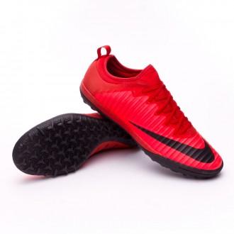 Sapatilha  Nike MercurialX Finale II Turf University red-Black-Bright crimson