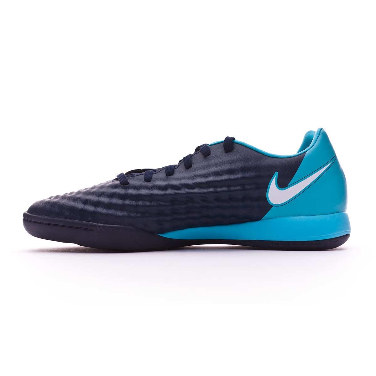 ... futsal boot nike magistax onda ii ic obsidian white gamma blue 7f391061b72ce