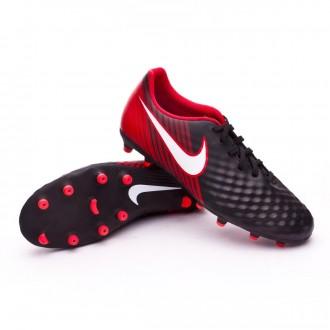 Chuteira  Nike Magista Ola II FG Black-White-University red
