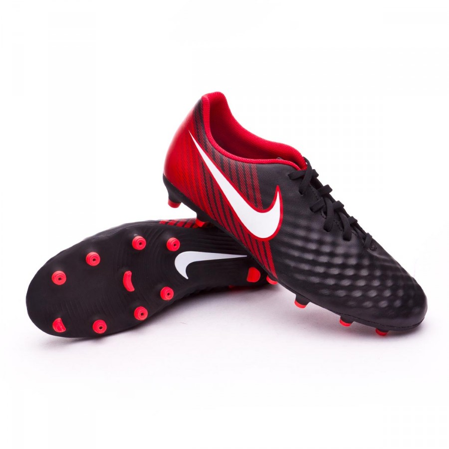 e1b15af74d34 Football Boots Nike Magista Ola II FG Black-White-University red ...