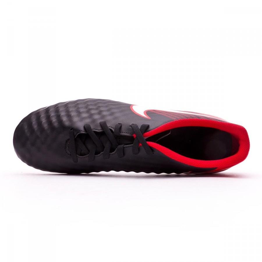 d8b27938d Football Boots Nike Magista Ola II FG Black-White-University red - Football  store Fútbol Emotion