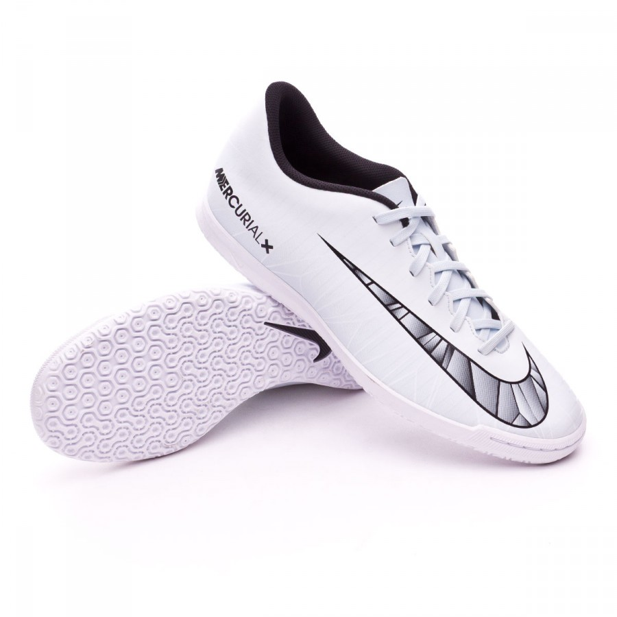 0ed674e02 Futsal Boot Nike MercurialX Vortex III CR7 IC Blue tint-Black-White ...