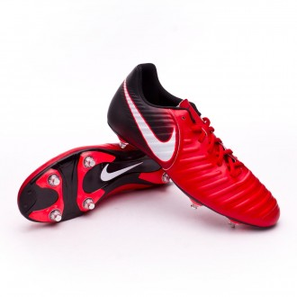 Chaussure  Nike Tiempo Rio IV SG University red-White-Black