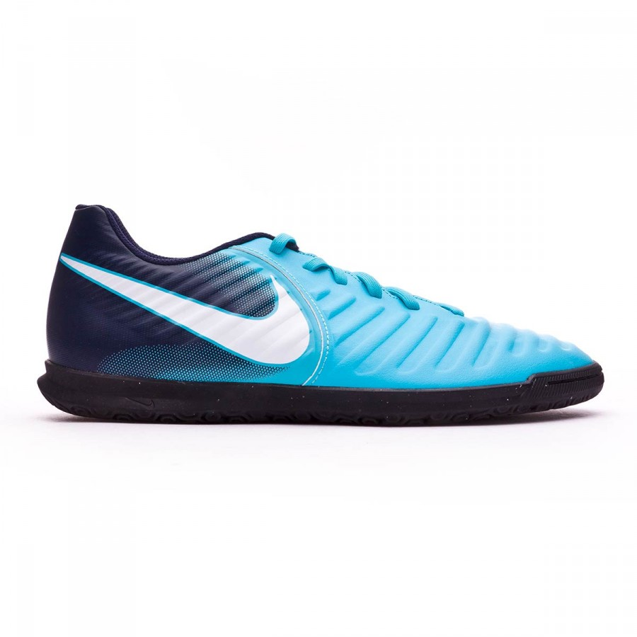 b11038b6c Futsal Boot Nike TiempoX Rio IV IC Gamma blue-White-Obsidian-Glacier blue -  Football store Fútbol Emotion