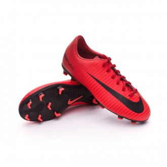 Chuteira  Nike Jr Mercurial Victory VI FG University red-Black-Bright crimson