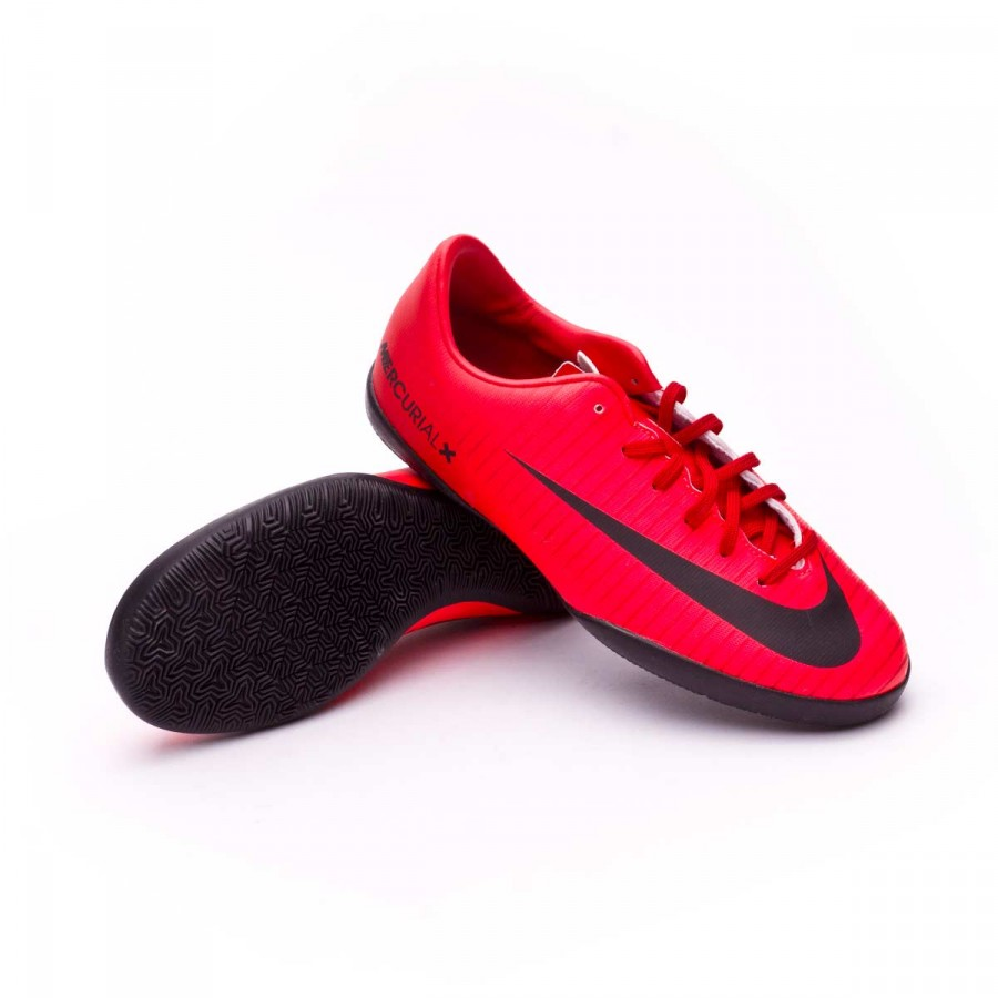 042767bf9a4f78 Chaussure de futsal Nike MercurialX Vapor XI IC enfant University  red-Black-Bright crimson - Boutique de football Fútbol Emotion