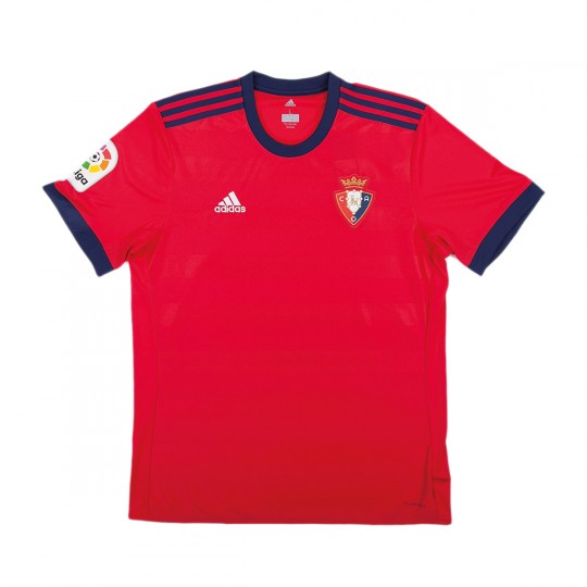 Camiseta  adidas CA Osasuna Primera Equipación 2017-2018 Niño Rojo