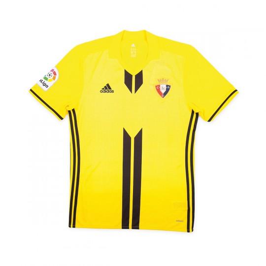 Camiseta  adidas CA Osasuna Segunda Equipación 2017-2018 Niño Amarilla