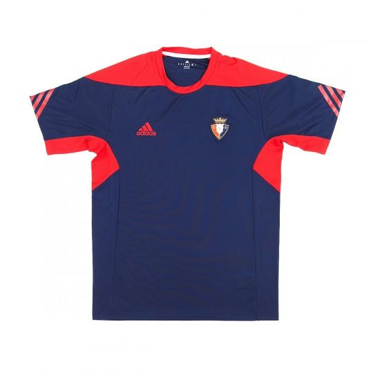Camiseta  adidas CA Osasuna Training 2017-2018 Niño azul