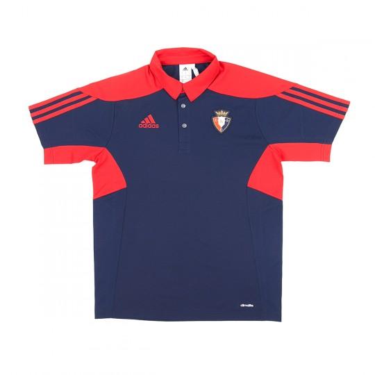 Polo  adidas CA Osasuna 2017-2018 Niño azul
