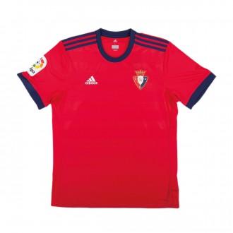 Camiseta  adidas CA Osasuna Primera Equipación 2017-2018 Rojo
