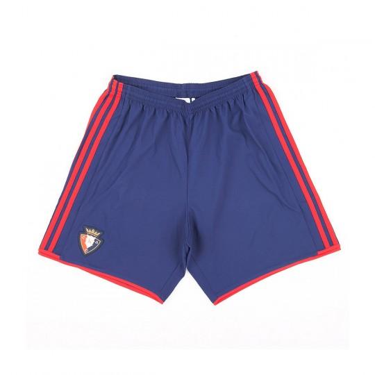 Pantalón corto  adidas CA Osasuna Primera Equipación 2017-2018 Azul
