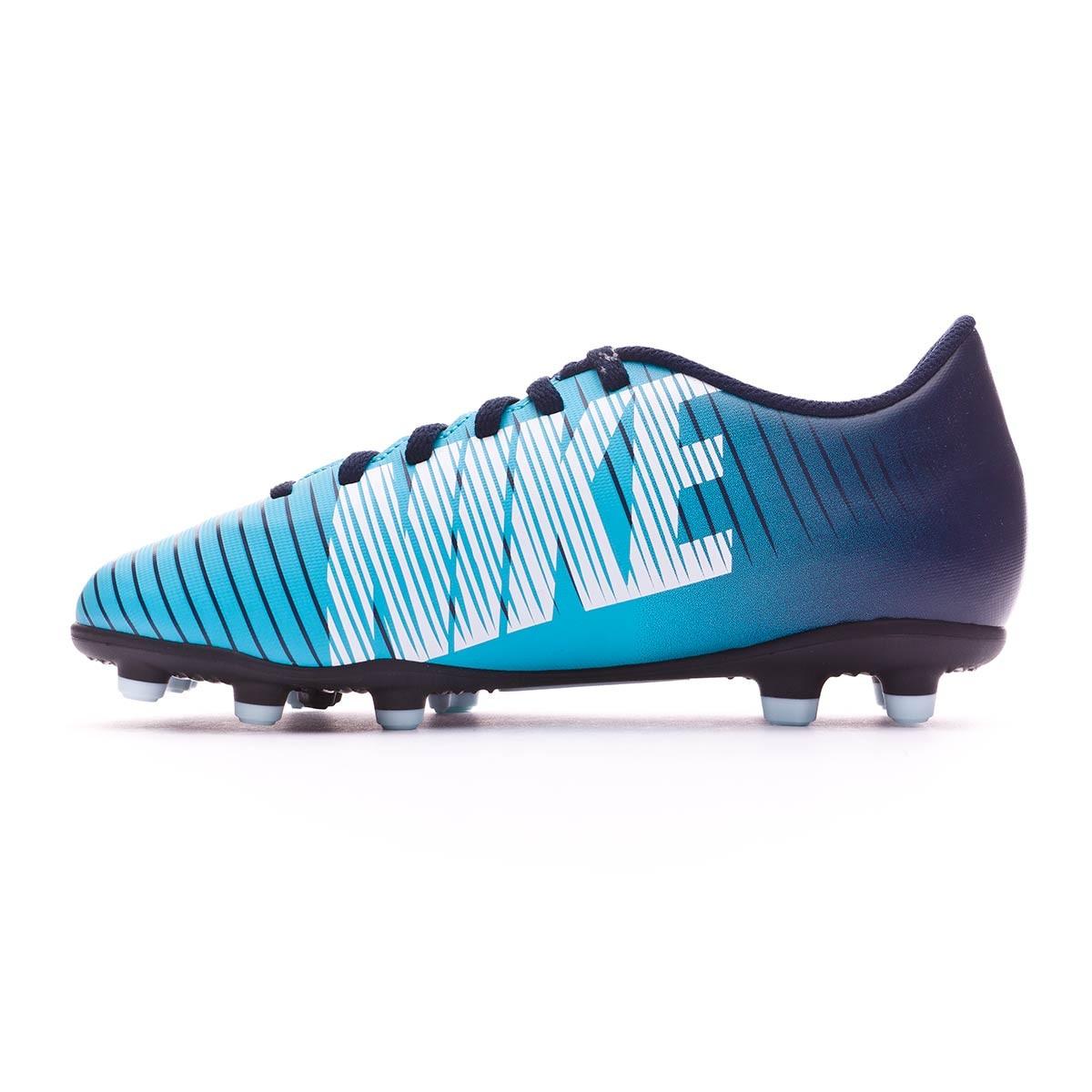 af4acf3da49 Football Boots Nike Jr Mercurial Vortex III FG Obsidian-White-Gamma blue -  Tienda de fútbol Fútbol Emotion