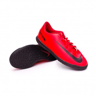 Zapatilla  Nike MercurialX Vortex III IC Niño University red-Black-Bright crimson