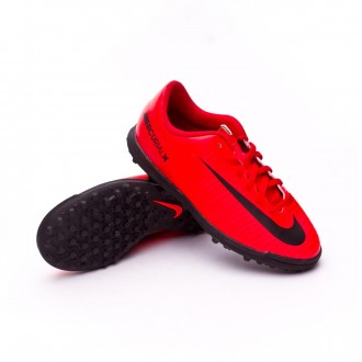 Sapatilha  Nike Jr Mercurial X Vortex III Turf University red-Black-Bright crimson