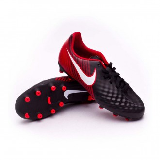 Chuteira  Nike Jr Magista Ola II FG Black-White-University red