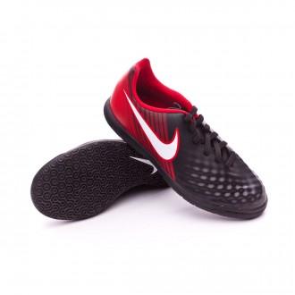 Sapatilha de Futsal  Nike MagistaX Ola II IC Crianças Black-White-University red