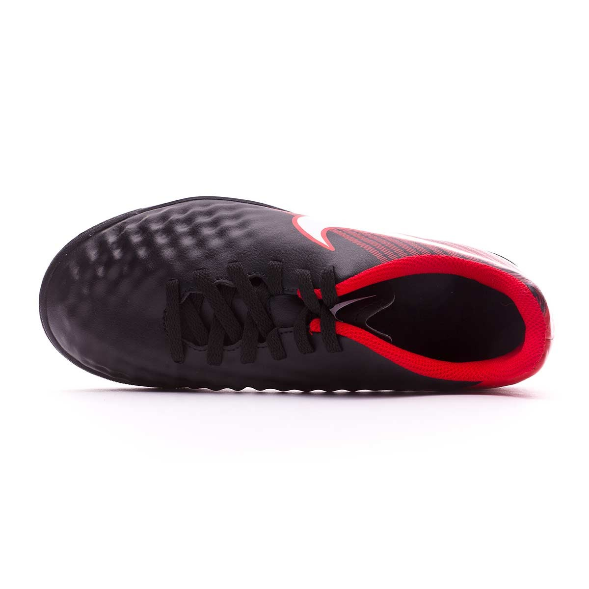 Futsal Boot Nike Kids MagistaX Ola II IC Black-White-University red -  Soloporteros es ahora Fútbol Emotion 18b67125e