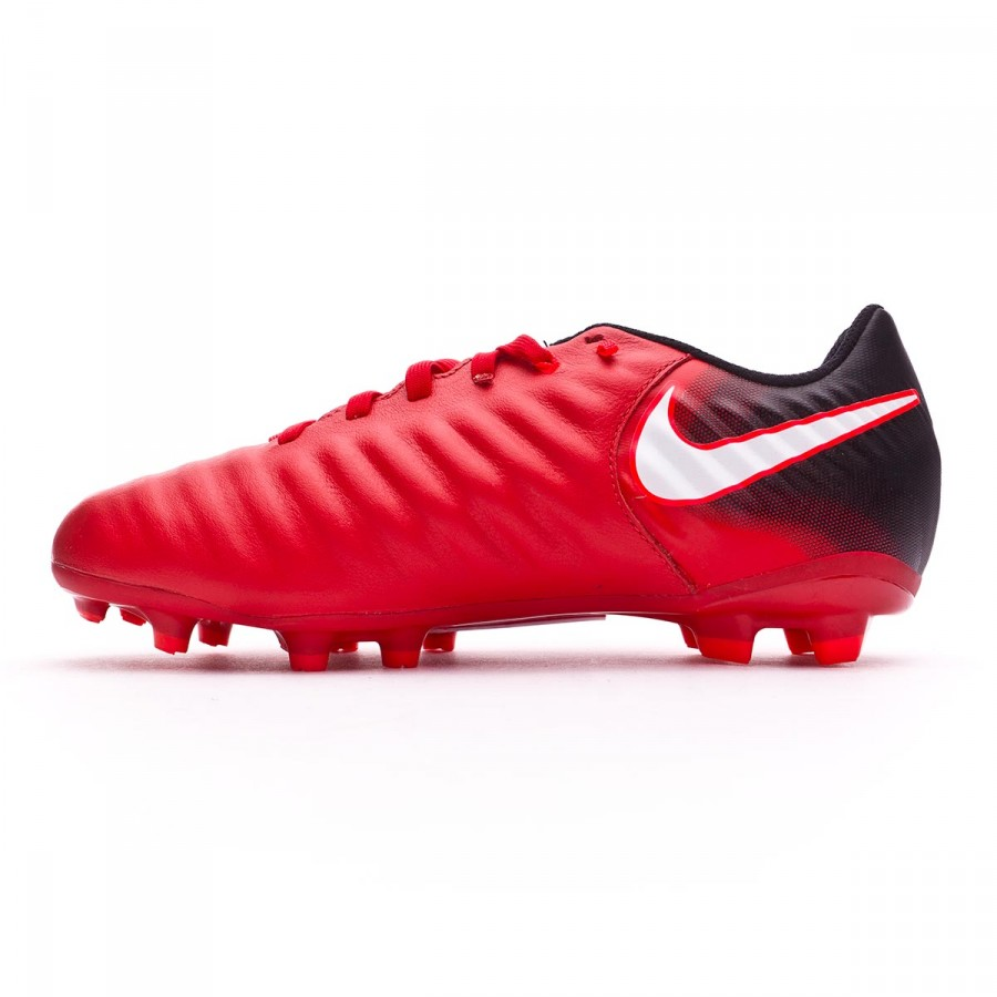 7b5b613b6516a Football Boots Nike Kids Tiempo Ligera IV FG University red-White-Black -  Football store Fútbol Emotion