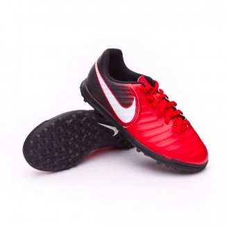 Sapatilhas  Nike TiempoX Rio IV Turf Crianças University red-White-Black