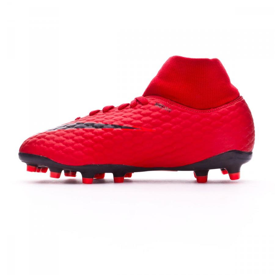 6ff6b3601 Bota de fútbol Nike Hypervenom Phelon III DF FG Niño University red-Black-Bright  crimson - Tienda de fútbol Fútbol Emotion