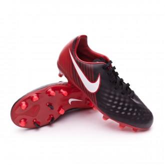Zapatos de fútbol  Nike Magista Onda II FG Niño Black-White-University red