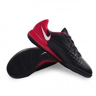Zapatilla  Nike MagistaX Onda II IC Niño Black-White-University red