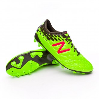 Bota  New Balance Visaro 2.0 Mid Level AG Green-Cherry