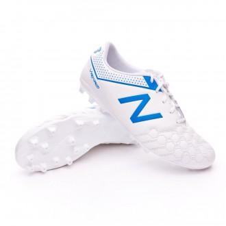 Chaussure de football  New Balance Visaro 1.0 Liga AG Piel White-Blue
