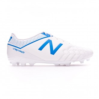Football Boots  New Balance Visaro 1.0 Liga AG Piel White-Blue