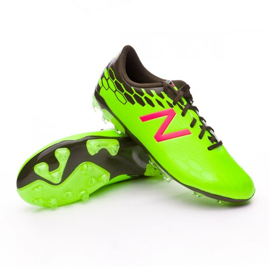 Chaussure  New Balance Jr Visaro 2.0 Control AG Green-Cherry