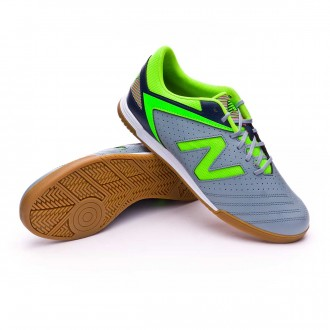 Zapatilla  New Balance Audazo Strike 1.0 Futsal Grey-Green