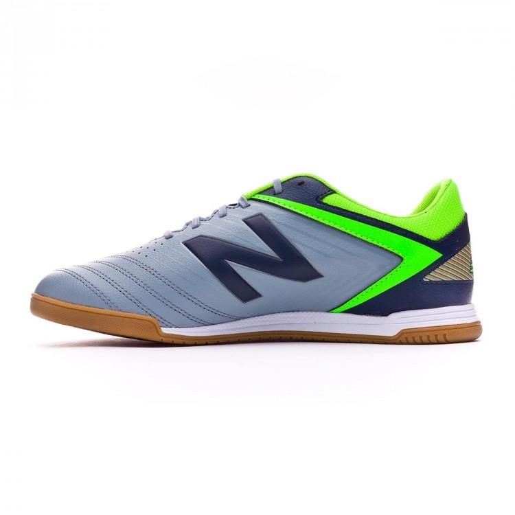 Zapatilla de fútbol sala New Balance Audazo Strike 1.0 Futsal Grey ... 96ec36ec21ae6